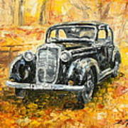 Mercedes 170 S Art Print