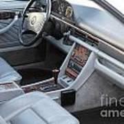 Mercedes 560 Sec Interior Art Print