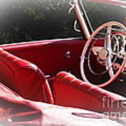 Mercedes Benz 190 Sl Art Print
