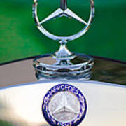 Mercedes Benz Hood Ornament 3 Art Print
