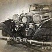Mercedes Benz Vintage Art Print