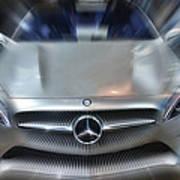 Mercedes Concept 2013 Art Print