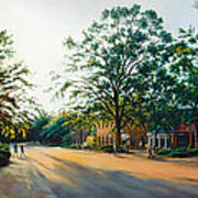 Merchants Square In The Late Afternoon Art Print