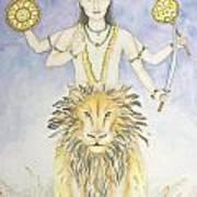 Budha Mercury Art Print