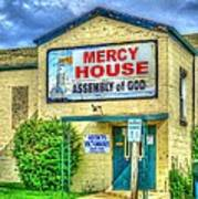 Mercy? Art Print
