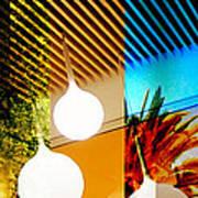 Merged - Slatted Print by Jon Berry OsoPorto