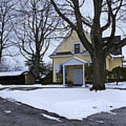 Merion Meeting House - Narberth Pa Art Print by Bill Cannon