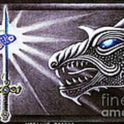 Merlin's Dragon Art Print