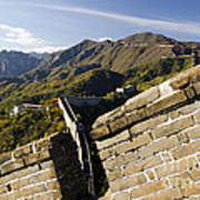 Merlon View Of The Great Wall 1037 Art Print