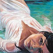 Mermaid Helen Art Print