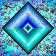 Mermaid Jewel Art Print