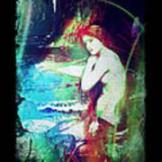 Mermaid Of The Tides Art Print