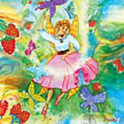 Merri Goldentree Dances Art Print