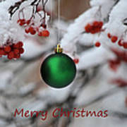 Merry Christmas 4 Art Print