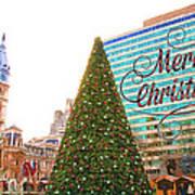 Merry Christmas From Philadelphia Art Print