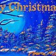 Merry Christmas Wish V2 Art Print