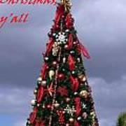 Merry Christmas Y'all Art Print