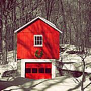 Merry Red Art Print