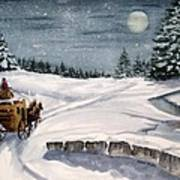 Merry Ride Art Print