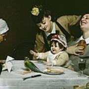 Merrymakers Print by Charles Emile Auguste Carolus-Duran