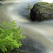 Mersey River Nova Scotia Canada Art Print