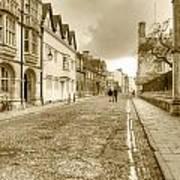 Merton Street Oxford Art Print