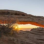 Mesa Arch Sunrise 3 - Canyonlands National Park - Moab Utah Art Print