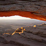 Mesa Arch Sunrise Art Print