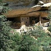 Mesa Verde Cliff Dwellings  Art Print