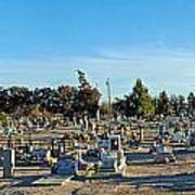 Mesilla Nm Cemetery 3   Art Print