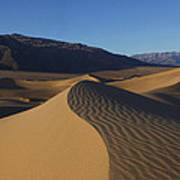 Mesquite Dunes Death Valley 1 Art Print