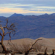 Mesquite Flat Sand Dunes Stovepipe Wells Death Valley Art Print
