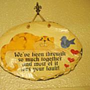 Message Of Love Art Print