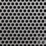 Metal Grill Dot Pattern Art Print