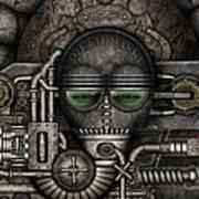 Metal Mask Art Print
