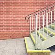 Metal Stairs Art Print