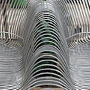 Metal Strips Art Print