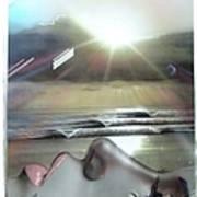 Metallic Visions Art Print