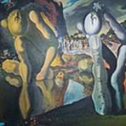Metamophosis Of Narcissus Art Print