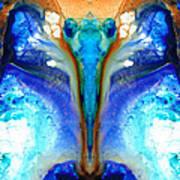 Metamorphosis - Abstract Art By Sharon Cummings Art Print