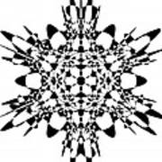 Metatron Cube A Version Art Print
