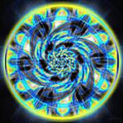 Metatron Swirl Art Print by Derek Gedney