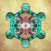 Metatron's Cube Art Print by Filippo B