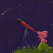 Meteor Shower Art Print by Christy Beckwith