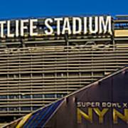 Metlife Stadium Super Bowl Xlviii Ny Nj Art Print