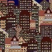 Metropolis Seven Art Print
