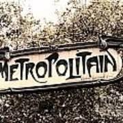 Metropolitain Art Print