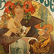 Meuse Beer Art Print