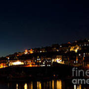 Mevagissy Nights Art Print