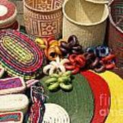 Mexican Basketry Art Print